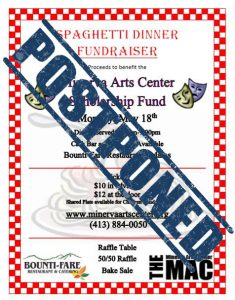 POSTPONED-2020 Spaghetti Dinner Fundraiser
